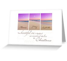 Christmas - Remembering Your Son Greeting Card