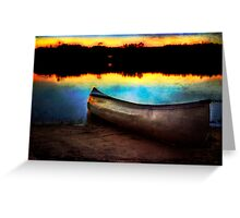 Autumn at the Lake Greeting Card