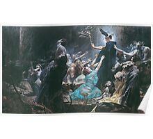 Souls on the Banks of the Acheron by Adolf Hirémy-Hirschl Poster