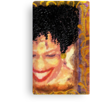 The Artist Who Found her SMILE Canvas Print