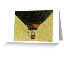An Empty Balloon  Greeting Card