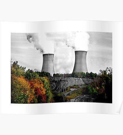 Limerick Power Plant Poster