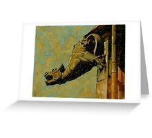 Gargoyle #1 Greeting Card
