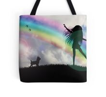 Windy McGee At The End Of The Rainbow. Tote Bag