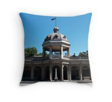 Soldiers Memorial Institute, Bendigo Throw Pillow