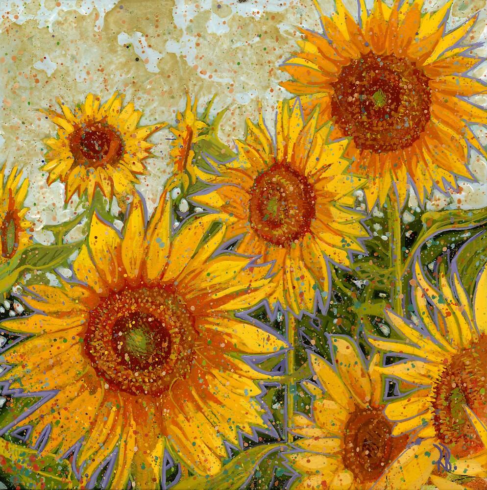 Sunflowers by Richard Bradish Jr