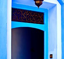 The Blue City V by Damienne Bingham