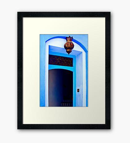 The Blue City V Framed Print