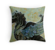 Gargoyle #2 Throw Pillow