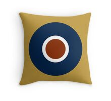 Royal Air Force - Historical Roundel Type C 1942 - 1947 Throw Pillow