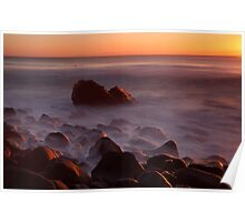 Burleigh Heads Sunrise Poster