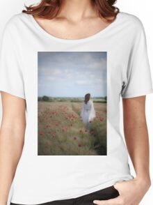 Poppy field Women's Relaxed Fit T-Shirt