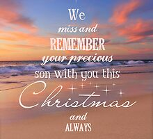 Christmas Tree - Remembering a son by CarlyMarie