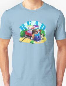 Book Wagon Unisex T-Shirt