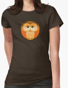 OWL 1 Womens Fitted T-Shirt