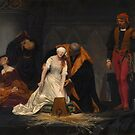The Execution of Lady Jane Grey by Paul Delaroche  by Aconissa
