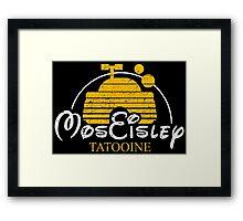 Mos Eisley - Tatooine Framed Print