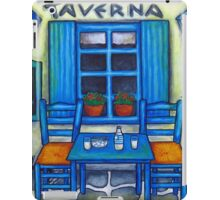 Table for Two in Greece iPad Case/Skin