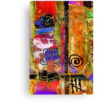 The Woven Stitch Cross Dance Canvas Print