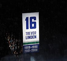 Trevor Linden- Retiring #16 by HapaCanuck
