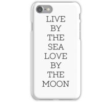 Live Love Quote Simple iPhone Case/Skin