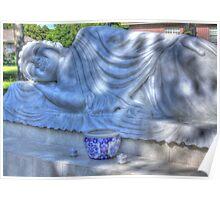 Sleeping Buddha HDR Poster