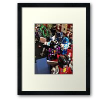 Lego Transformers Framed Print