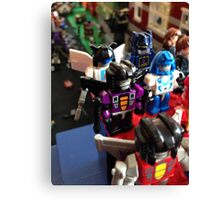 Lego Transformers Canvas Print