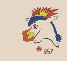 Pokemon 157 Typhlosion by methuselah