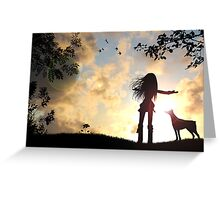 It's a beautiful day! Greeting Card