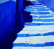 The Blue City VII by Damienne Bingham