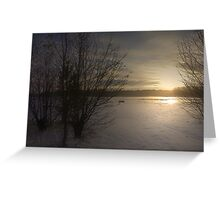 AS THE SUN SETS I WILL REMEMBER YOU Greeting Card