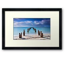 Follow The Path Before Us Framed Print