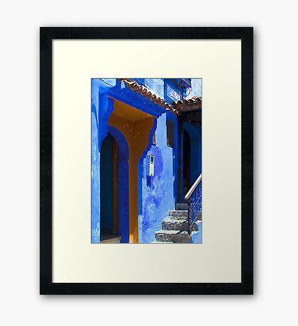 The Blue City VIII Framed Print