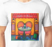 Table for Two in Paris Unisex T-Shirt