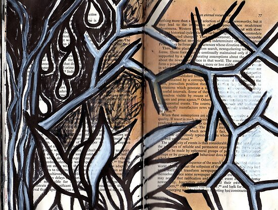 Altered Book 5 by zoe trap