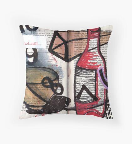 Altered Book 6 Throw Pillow