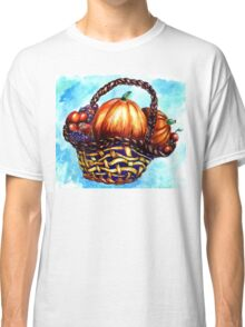Vegetables in Basket Classic T-Shirt