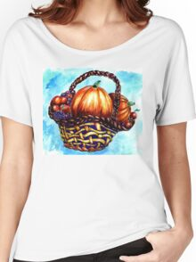 Vegetables in Basket Women's Relaxed Fit T-Shirt