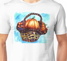 Vegetables in Basket Unisex T-Shirt