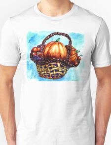 Vegetables in Basket T-Shirt