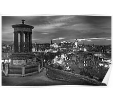 Edinburghs View Poster