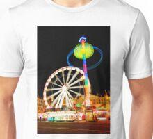 Dam Square Funfair, Amsterdam Unisex T-Shirt