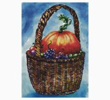 Vegetables in Basket 2 Baby Tee