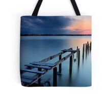 Deserted Sunset Tote Bag