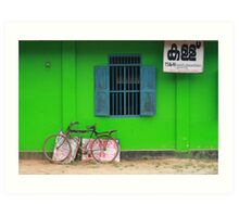 Postcards from Kerala: The toddy shop Art Print