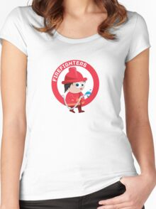 Firefighter Women's Fitted Scoop T-Shirt