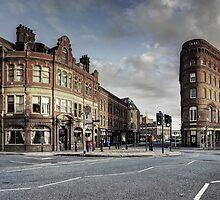 Leeds Bridge Building and Adelphi by ademcfade