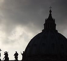 St Peter's Basilica Rome by graceloves