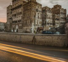Old Sana'a city  Sticker